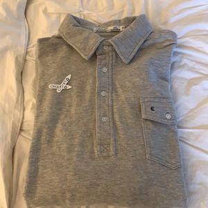 Criquet long sleeve players polo shirt, XXL